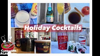 Easy Favorite Holiday Cocktails