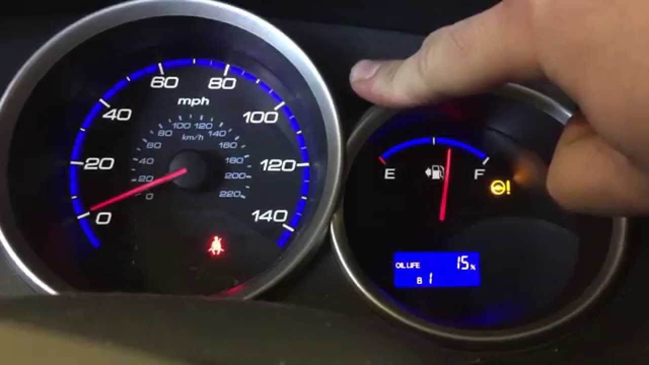 how to reset oil change reminder on honda fit [ 1280 x 720 Pixel ]