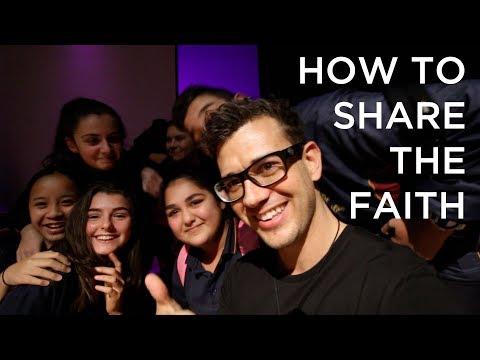How to Share The Faith