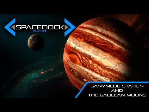 The Expanse: Ganymede Station & The Galilean Moons