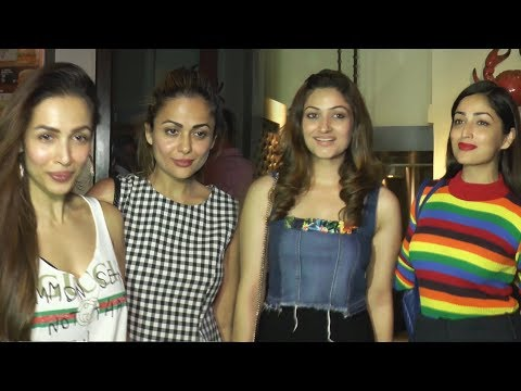 Malaika Arora, Amrita At Yami Gautam NIGHT PARTY