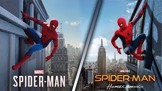 Recreating Movie Posters/Comic Book Covers in Spider-Man PS4
