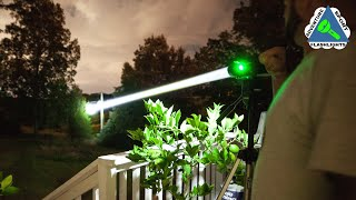 White Laser Flashlight, Acebeam W30
