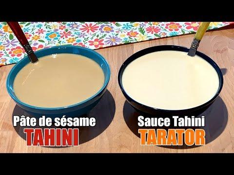 """pâte-de-sésame-maison-""""tahini""""-et-recette-de-sauce-tahini-""""tarator"""""""