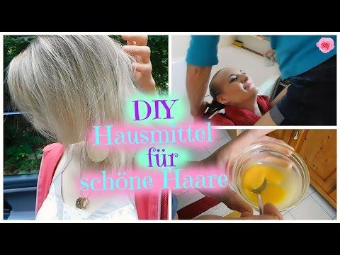 Hausmittel Für Schöne Haare Haarmaske Mit Rohem Ei Und Natürlicher