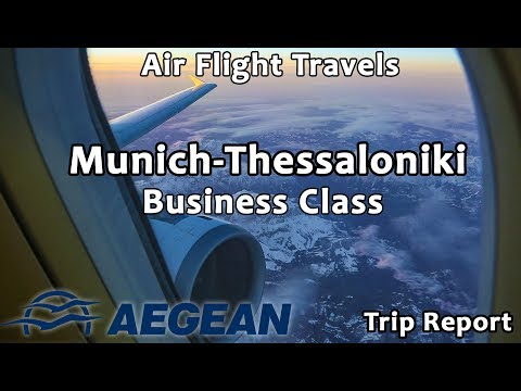 Trip Report : Aegean Airlines | Munich to Thessaloniki | Airbus A320 | A3503 | MUC-SKG