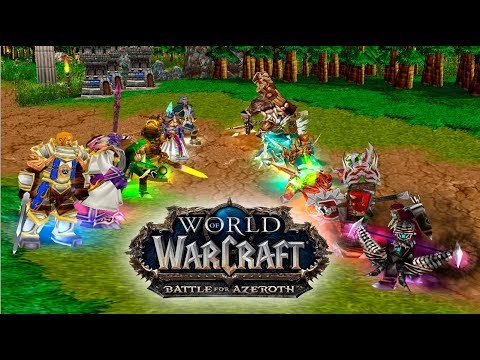 Битва за Азерот в Warcraft 3 (Battle for Azeroth in Warcraft 3)