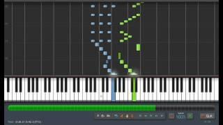 F. Burgmuller:  L'Arabesque - Piano Tutorial by PlutaX