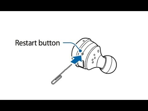 How T Reset The Gear IconX Earbuds - Samsung (Easiest Way)