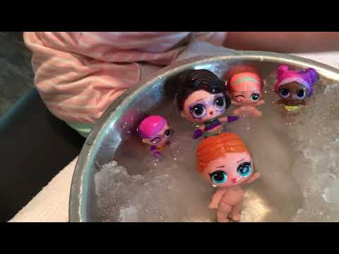 L.O.L dolls...change colors! ❤️❤️❤️❤️Remember to SUBSCRIBE!!❤️❤️❤️❤️❤️