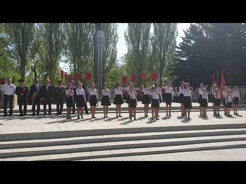 День Победы в Аткарске. 9 мая 2019 года.