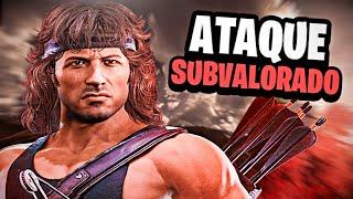 🔪 El ATAQUE MÁS SUBESTIMADO de RAMBO ... (MUY EPICO) - Mortal Kombat 11