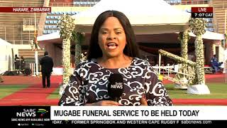 Robert Mugabe funeral service to be held this Saturday