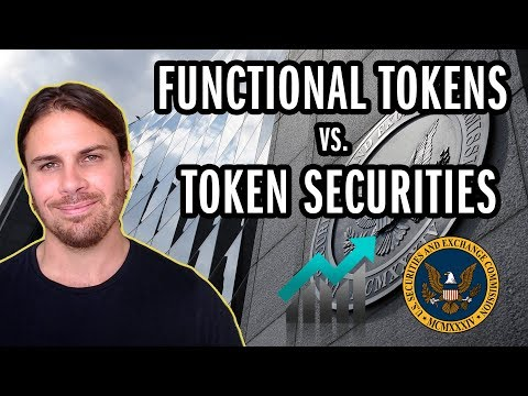 Functional & Security Cryptocurrency Tokens. Whats the diffe