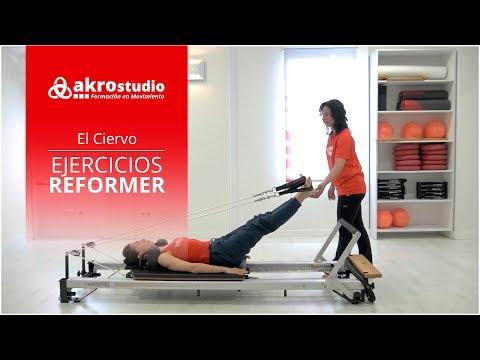 Pilates Reformer - Ejercicio El Ciervo
