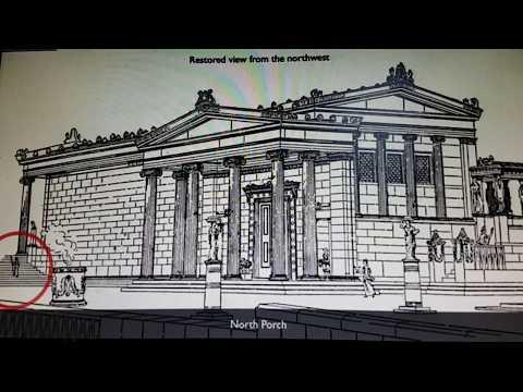 Erechtheion temple  ionic style