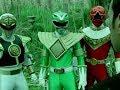 Power Ranger Dino Trueno | Tommy Oliver vs Green, White y Red Ranger | Espíritu de lucha