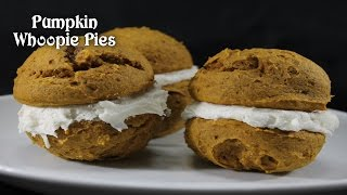 Pumpkin Whoopie Pies  Thanksgiving Dessert Idea