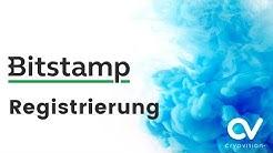 Bitstamp Registrierung