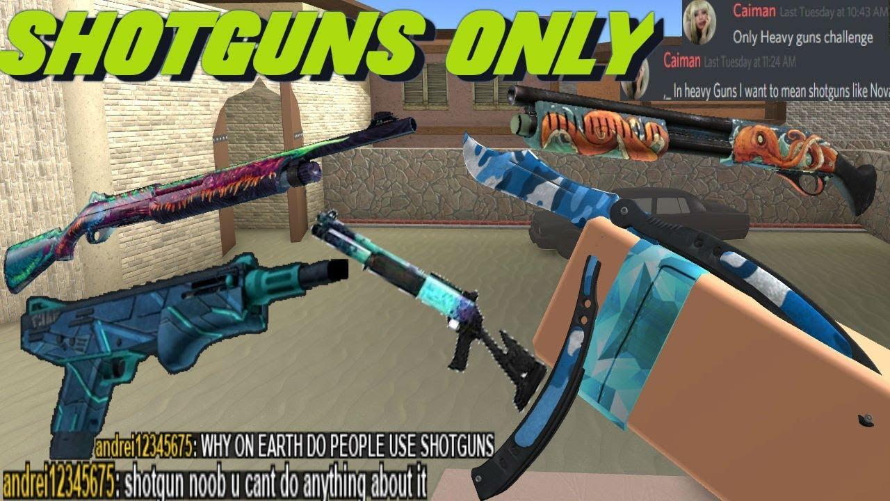 Counter Blox Shotgun Only Challenge!