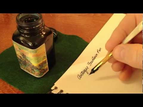 Vintage Writing Sounds - ASMR