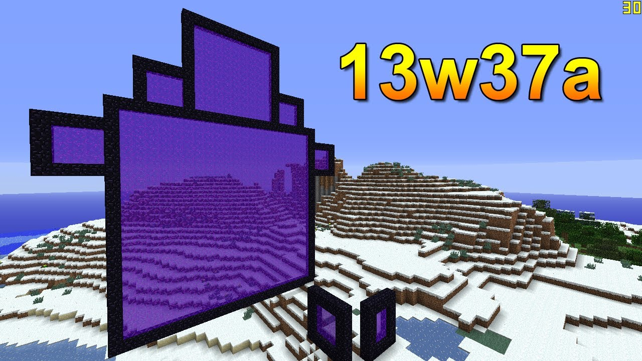 how to create the nether portal