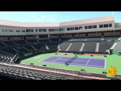 First Look - Indian Wells Tennis Garden Site Expansion & Stadium 2