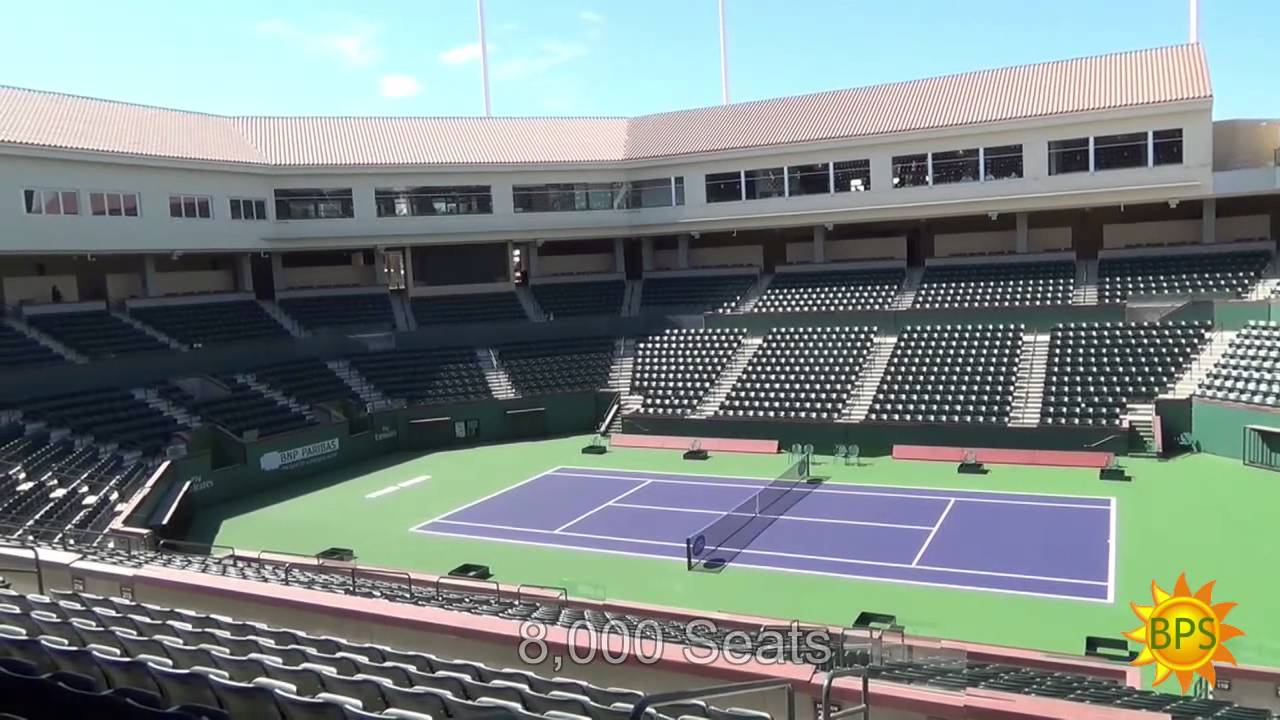 First Look   Indian Wells Tennis Garden Site Expansion U0026 Stadium 2