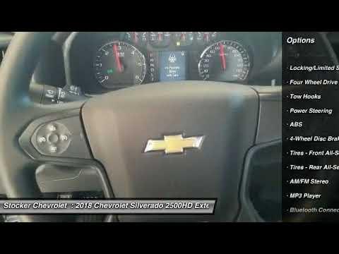 2018 Chevrolet Silverado 2500HD State College PA 204505. Stocker Chevrolet