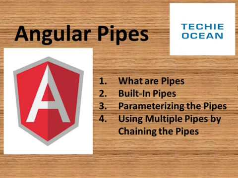 ANGULAR 8 : WHAT ARE PIPES