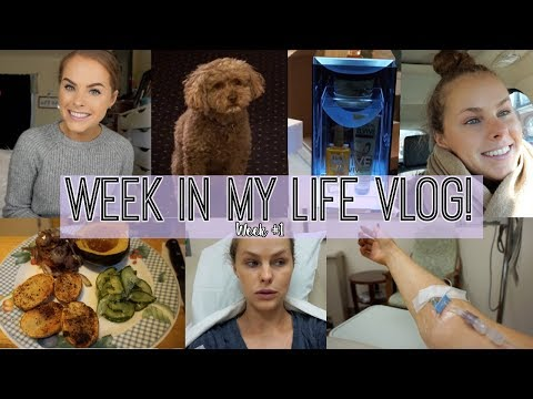 Week in My Life Vlog | Doctor Appointments, Hydrated, and MORE!!