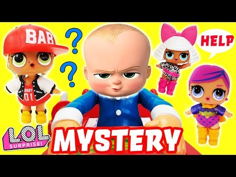 Don't Wake Daddy Boss Baby Mystery Game Clue Episode with LOL Surprise Dolls!