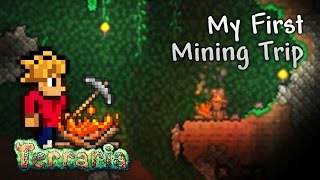 Terraria Let's Play - My First Mining Trip [2]