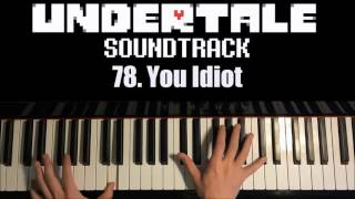 Undertale OST - 78. You Idiot (Piano Cover by Amosdoll)
