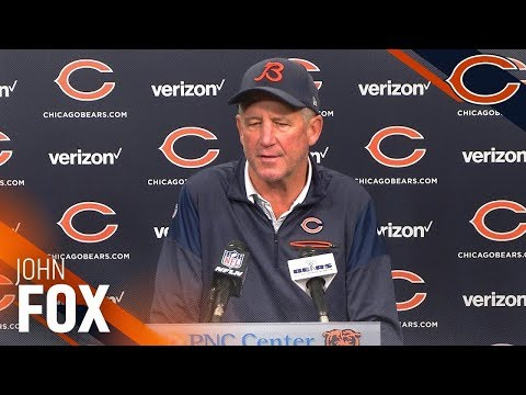 Chicago Bears Fired John Fox As NFL Head Coach After Three Years