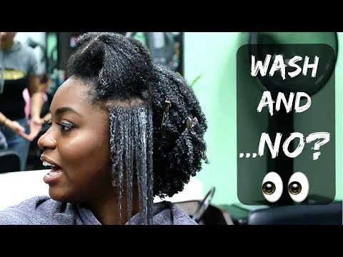I TRIED A WASH & GO AGAIN| SALON VISIT Jaded Tresses Ep.3