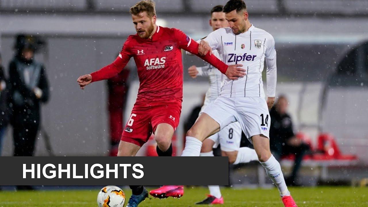 Highlights LASK – AZ | Europa League