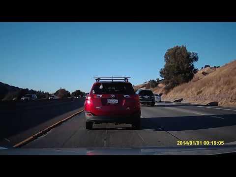 Driving from Union City to Martinez California via I-680