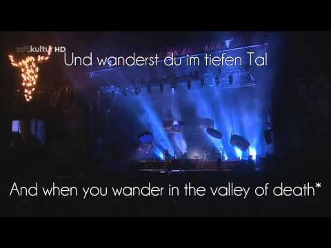 Rammstein - Wiener Blut @ Wacken 2013 Lyrics and Translation