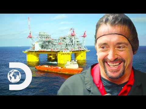 How Do Oil Platforms Get Their Groceries? | Richard Hammond's Big
