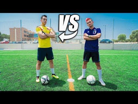 GREFG VS DELANTERO09 - Retos de Fútbol Épicos