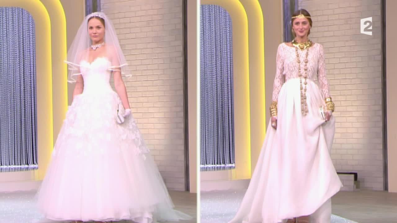 2 robes de mariee pour dire oui