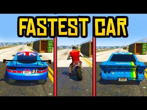 GTA 5 - Drift Tampa, Ocelot Lynx & Cliffhanger Speed Test! (Which GTA 5 DLC Car is Better?)