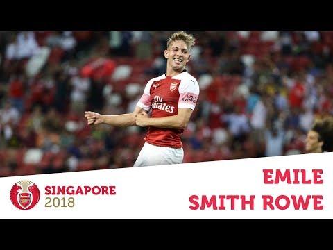 Compilation: Emile Smith Rowe | ICC 2018: Arsenal v Atletico Madrid | #AFCTour2018