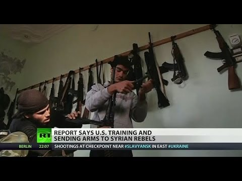 CIA providing arms to Syrian rebels