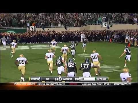 """One of the Greatest Trick Plays in College Football History: """"Little Giants"""" 