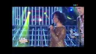 Laura Esquivel imita a Whitney Houston -Tu cara me suena-