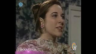 """🎭 Сериал """"Мануэла"""" 207 серия, 1991 год, Гресия Кольминарес, Хорхе Мартинес"""