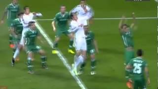 Real Madrid vs Ludogorets 2-0 Gareth Bale goal 09/12/2014 HD