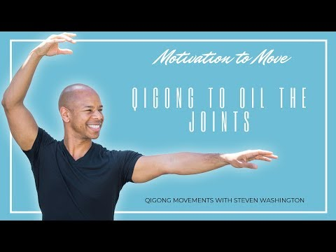 #Qigong Practice to Oil the Joints (Arthritis and Osteoporosis Exercise)